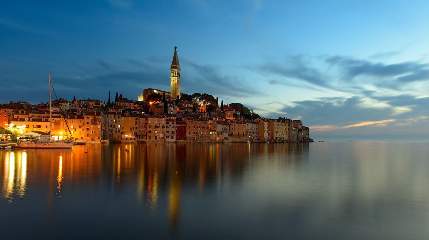 On the magnificent coast of Istria is the most romantic place in the Mediterranean, Rovinj.