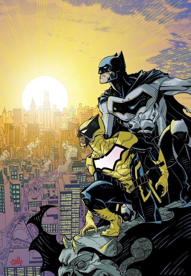 Duke Thomas & Batman.