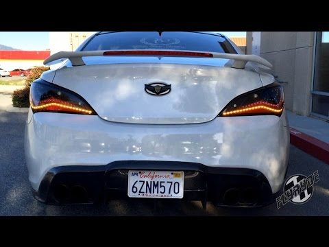 Attractive Merveilleux Sequential PowerLED Hyundai Genesis Coupe Tails