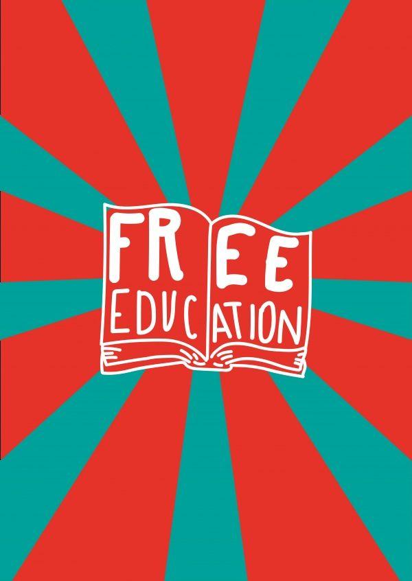 Free Education | DEMOCRACY DELIVERED | Send real postcards online ...