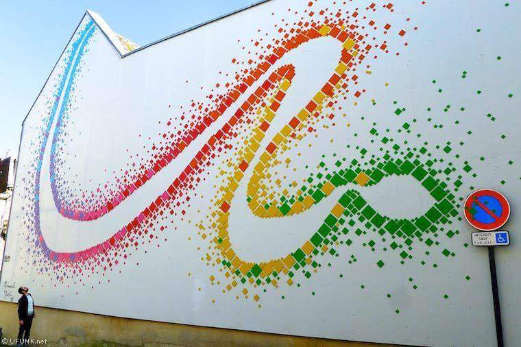 Ceci n'est pas un tag – Les créations du festival Street Art de Saint Quentin