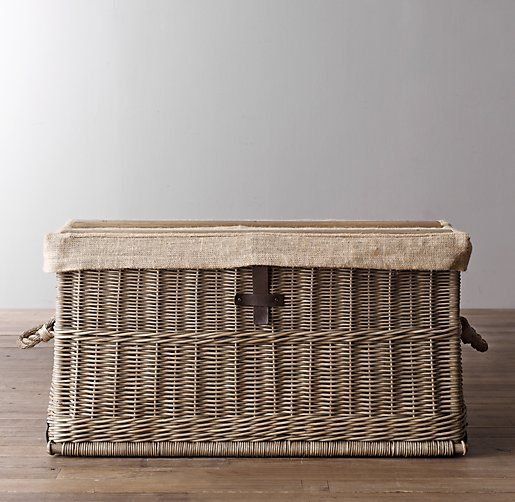 Bryce Wicker Trunk From RH Baby & Child. Love The Look Of