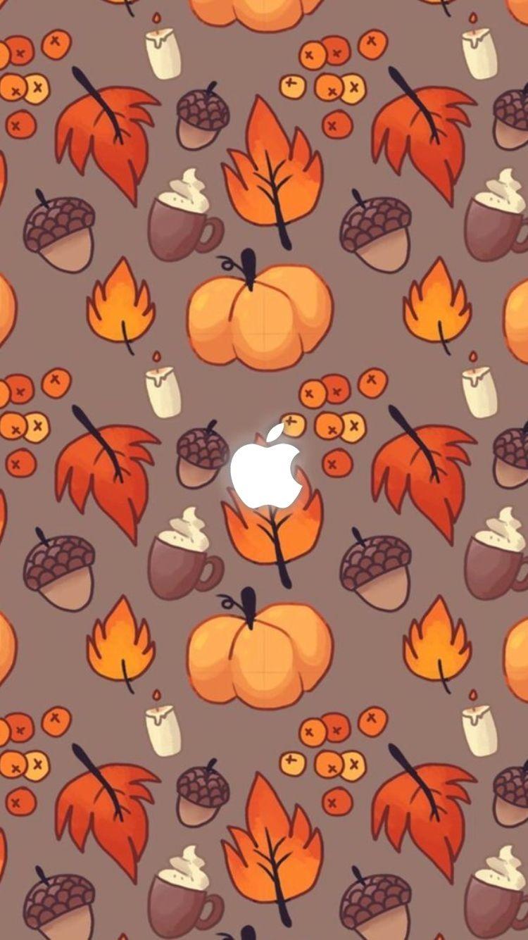 Halloween iPhone Wallpapers | Fall wallpaper, Autumn ...