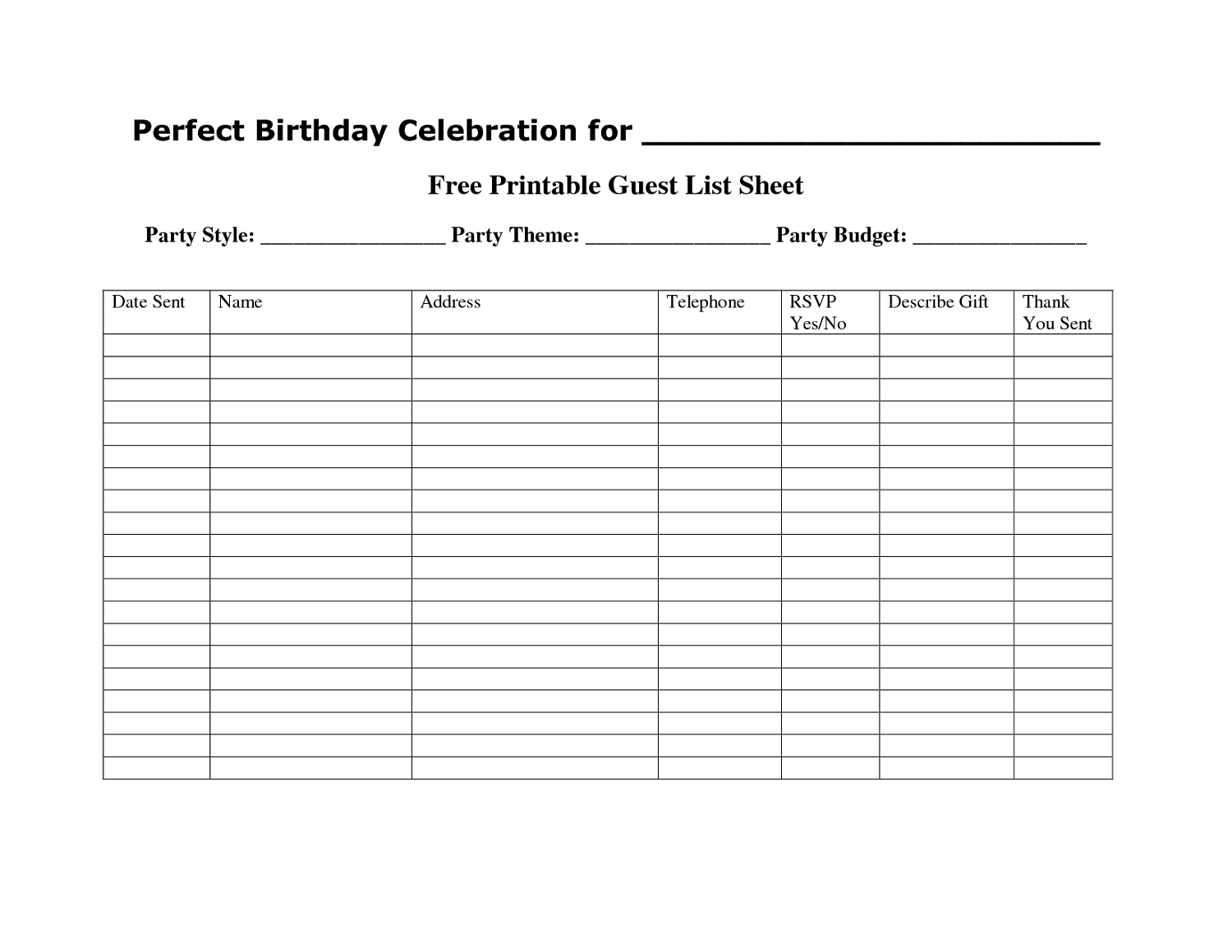 Free Printable Templates For Any Purposes