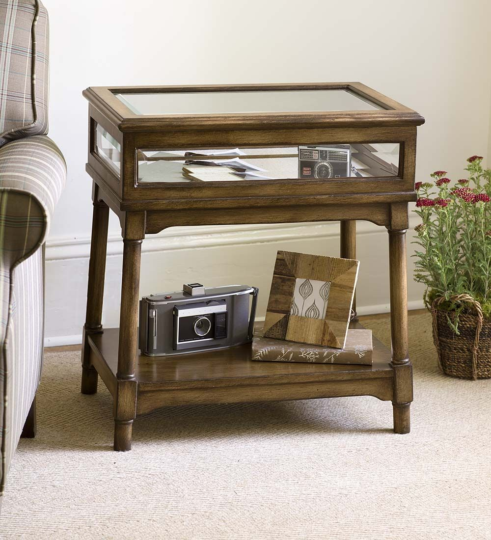 Whispering Pines Curio Table | Accent Tables