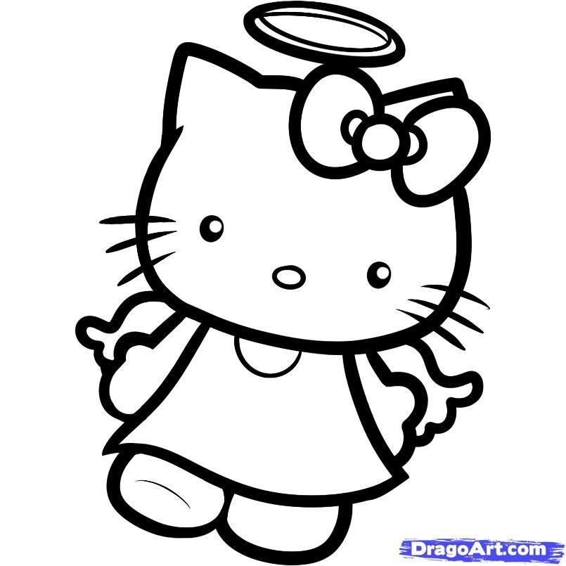 HK Coloring Pages  Adult Coloring Pages  Pinterest  Hello kitty