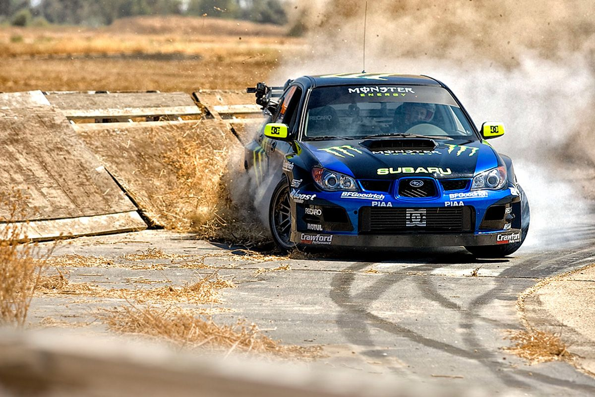 Ken Block S First Gymkhana Eye For Motorsports Subaru Subaru