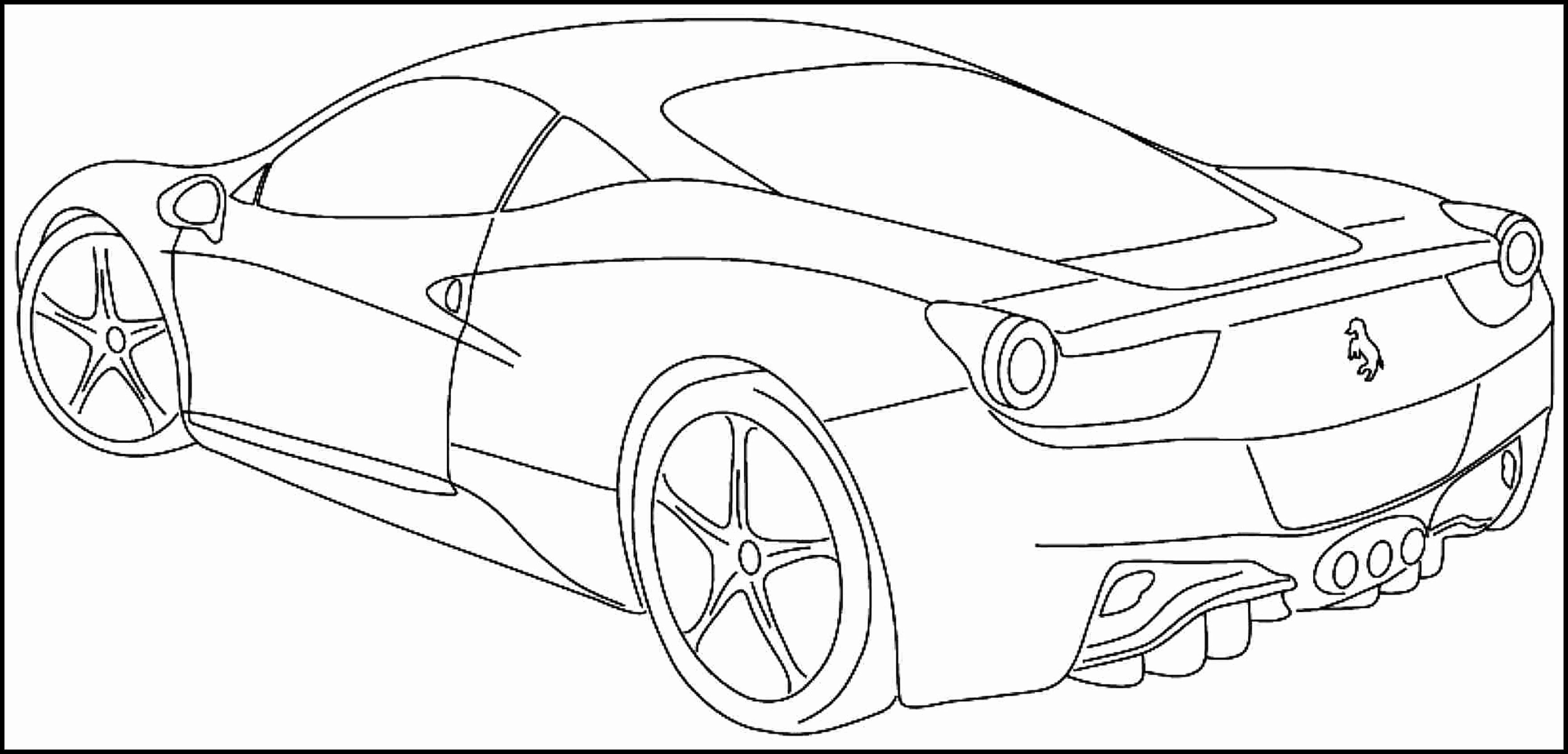 Sports Coloring Book Pdf Awesome Ferrari Enzo Car Coloring Pages Album Sabadaphnecottage Mobil Balap Mobil Warna