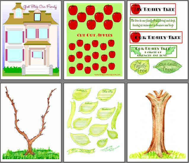 family tree scrapbook ideas (With images)