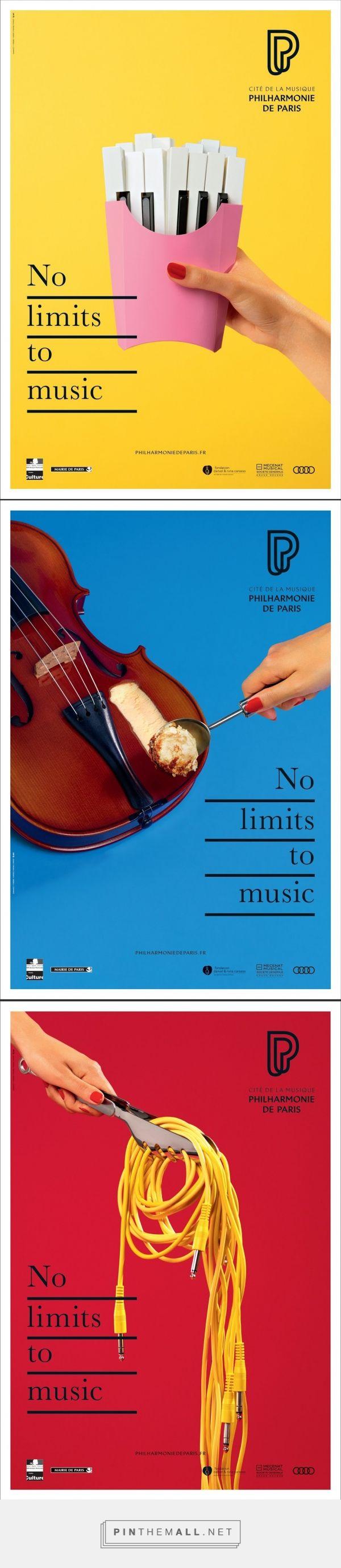 Concepto: devorar la música, campaña para la filarmónica de parís - created via https://pinthemall.net