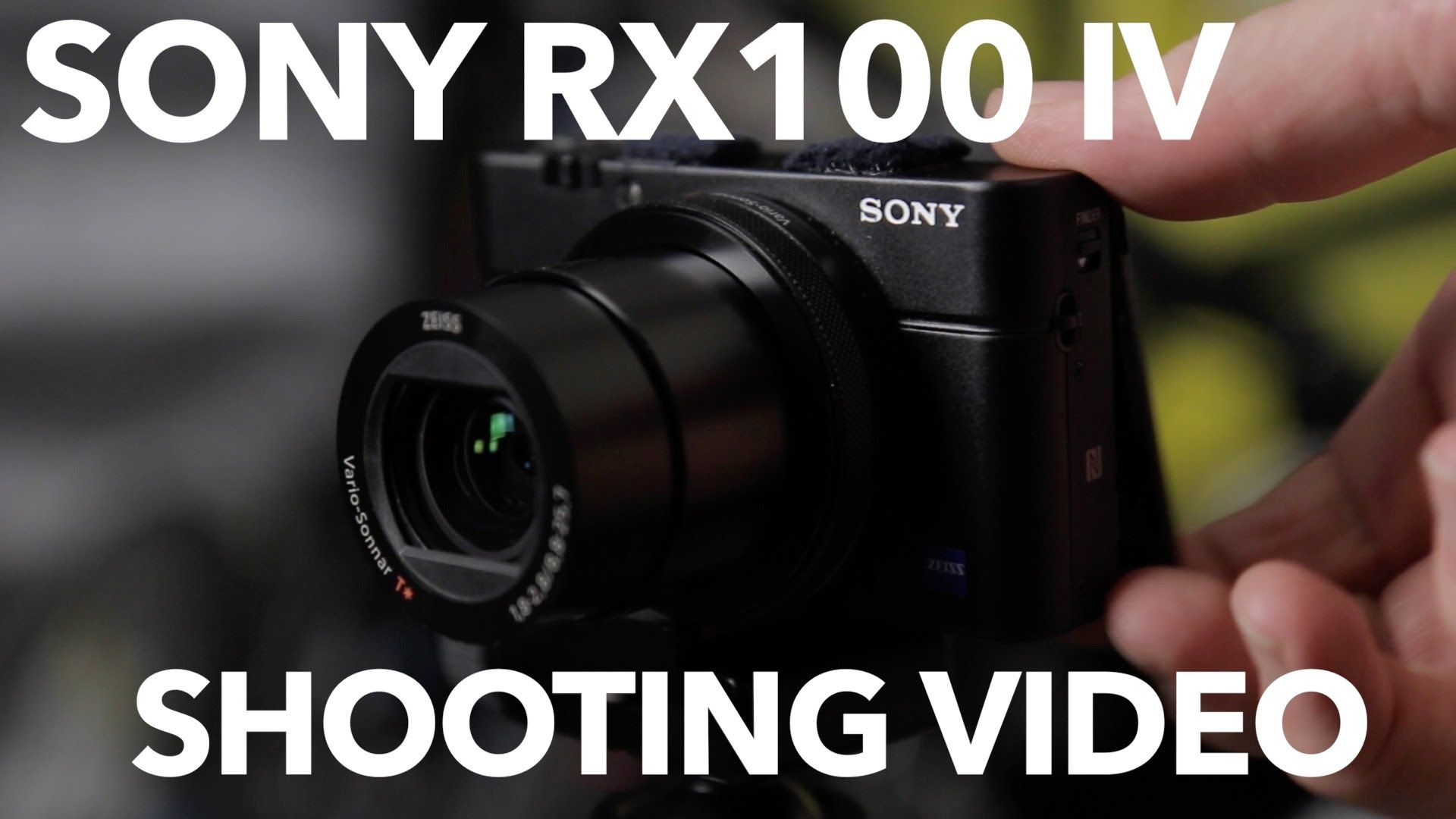 Sony RX100 IV Video Tests and Thoughts - YouTube | 3D tracking ...