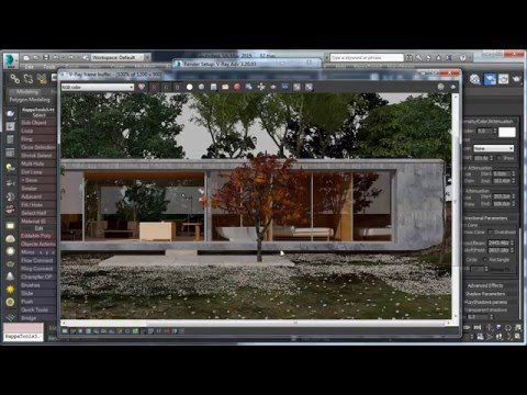 3ds max advance exterior rendering tutorial youtube - 3ds max vray exterior lighting tutorials pdf ...