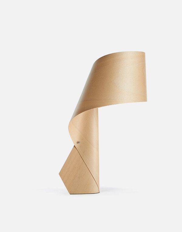 Attractive Created By Irish Designer Ray Power For Spain Wood Veneer Lamp Maker LZF,  The Air MG Is A Series Striking Table Lamp Made Of Polywood. Designer: Ray  Power Nice Look