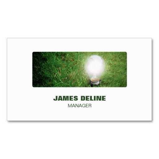 Professional modern green energy business card business cards and professional modern green energy business card reheart Image collections