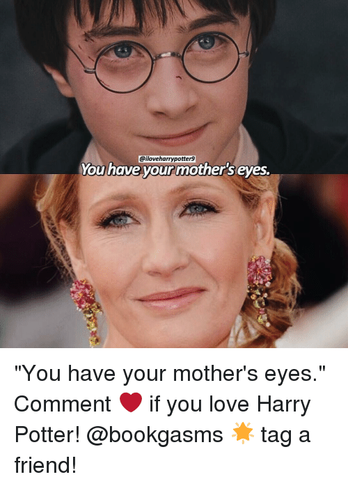 Harry Potter Memes And Iloveharrypotter9 You Have Your Mother S Eyes You Have Your Mother S E Harry Potter Jokes Harry Potter Puns Harry Potter Movies