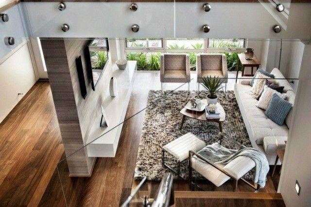 Casas modernas 50 ideas para decorar interiores casas for Ver interiores de casas modernas