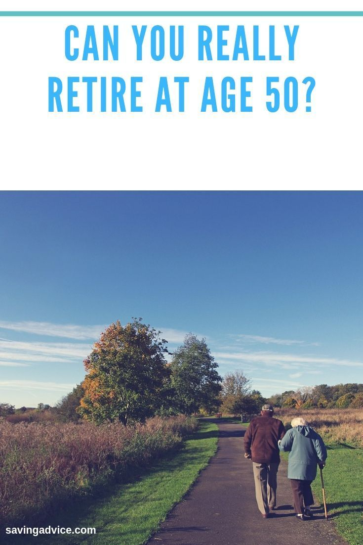 Can you really retire at age 50 blog