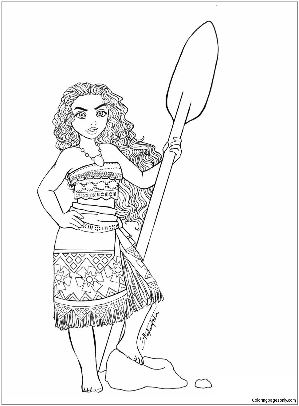Moana Princess 7 Coloring Page Moana Coloring Moana Coloring Pages Coloring Pages
