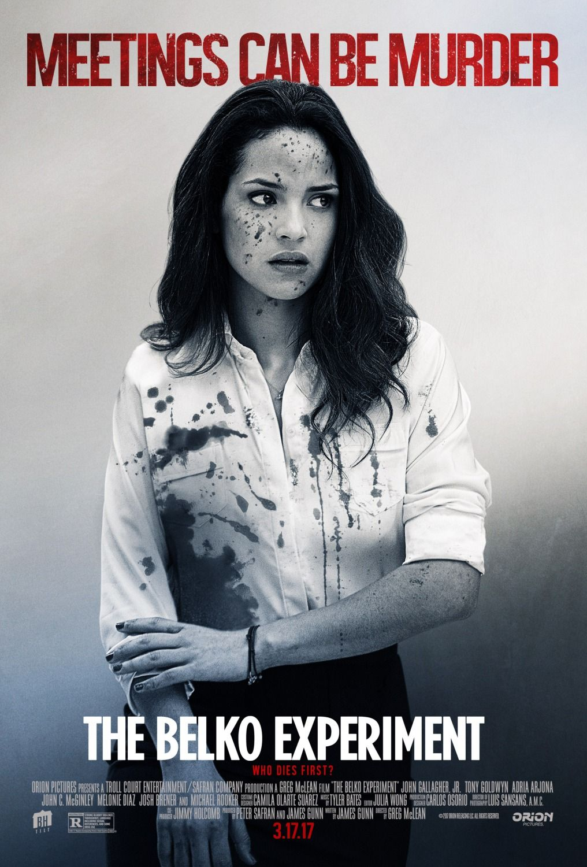 The Belko Experiment Adria Arjona Poster Full movies