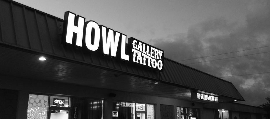 Howl tattoo piercing fort myers cape coral lehigh