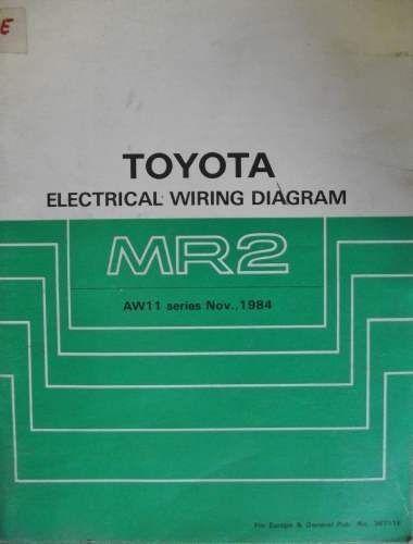 Toyota Mr2 Electrical Wiring Manual 1984 36711e