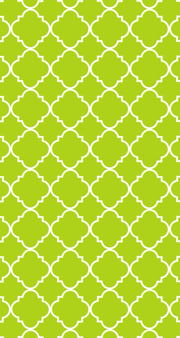 Screensaver Quatrefoil Wallpaper Green Wallpaper Cute Wallpapers