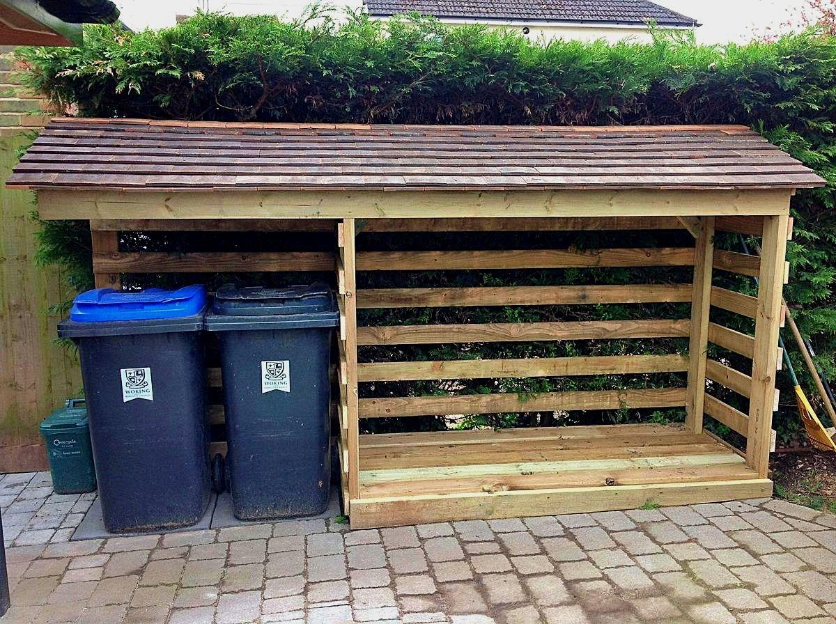 Box Per Bidoni Spazzatura pin di valeria zanna su giardino | progettazione giardino di