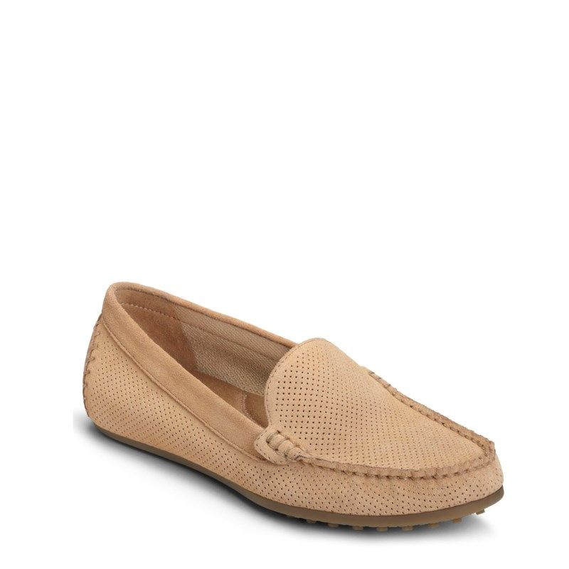 8a91ea847e3 Aerosoles Women s Over Drive Medium Wide Loafers (Light Tan Suede) - 11.0 M