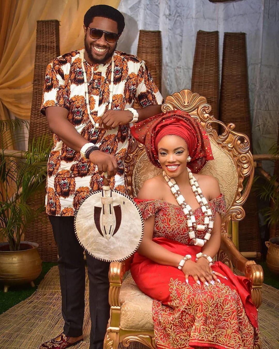 Photo Gallery Nigerian Wedding: First Photos Of Richard Nnadi And Chioma Nwakwesi's Star