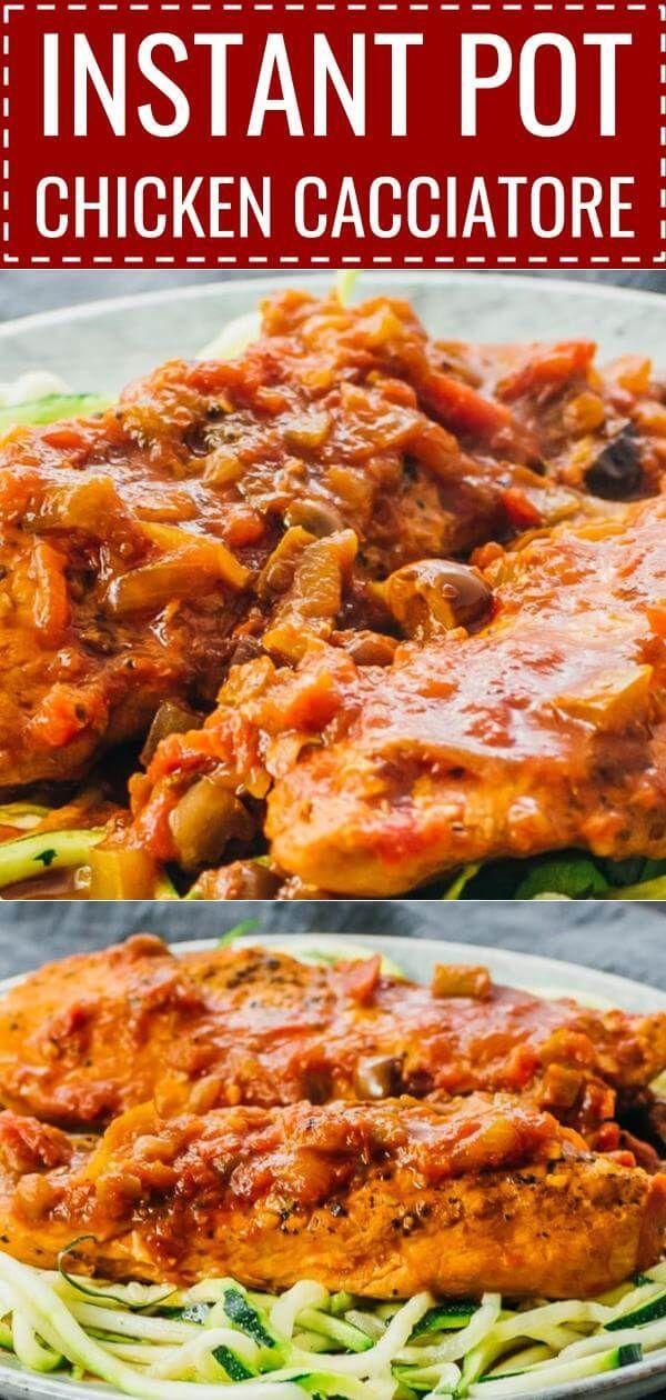 Instapot Chicken Breast Recipes Keto