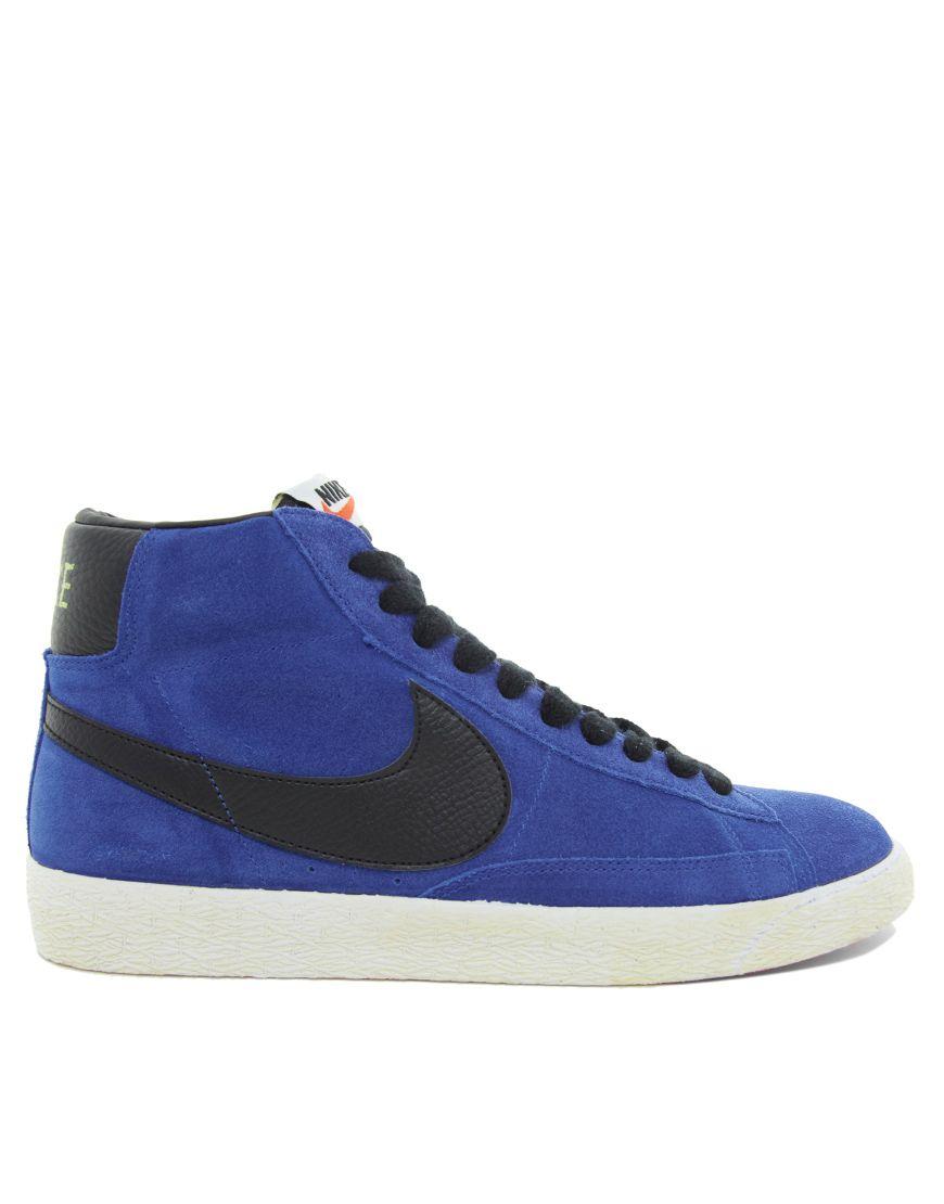 Nike Blazer Mid Suede Sneakers