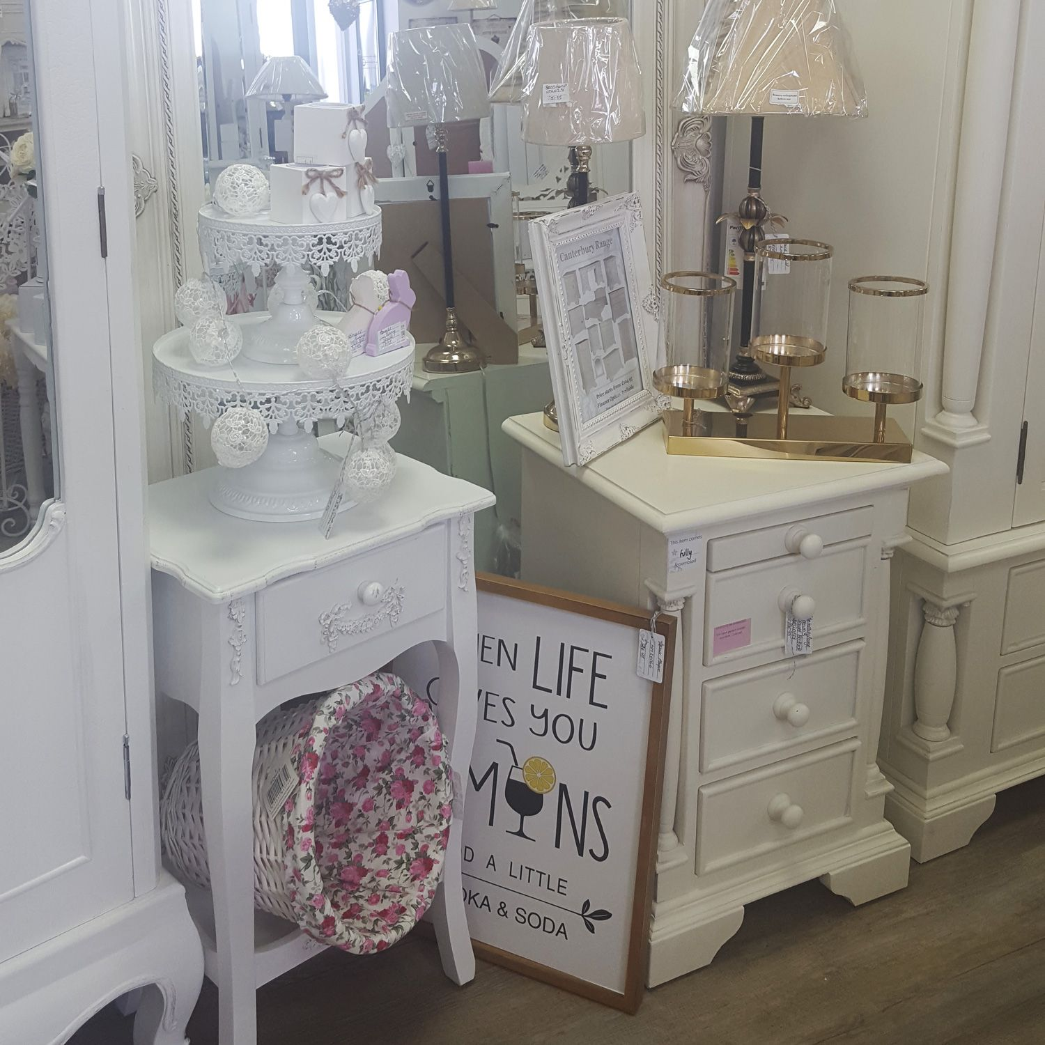 Doncaster ShowrromInterior Shopshabby Chic Exclusive Showroom Offer Visit Our Beautiful And Save ONE WEEK ONLY