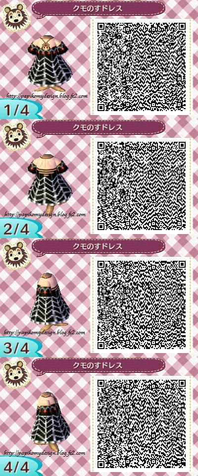 Spiderweb Dress Animal Crossing Qr Animal Crossing Qr Codes Animal Crossing