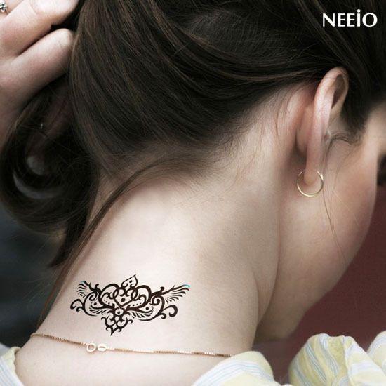 Tatuaje Cuello Mujer Buscar Con Google Infinito Pinterest