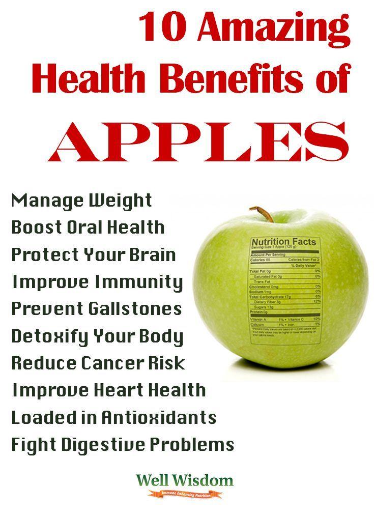 Health Benefits Of Apples Apple Health Benefits Apple Health