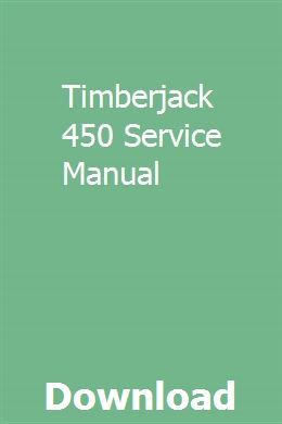 Timberjack 450 Service Manual | rietoprofing