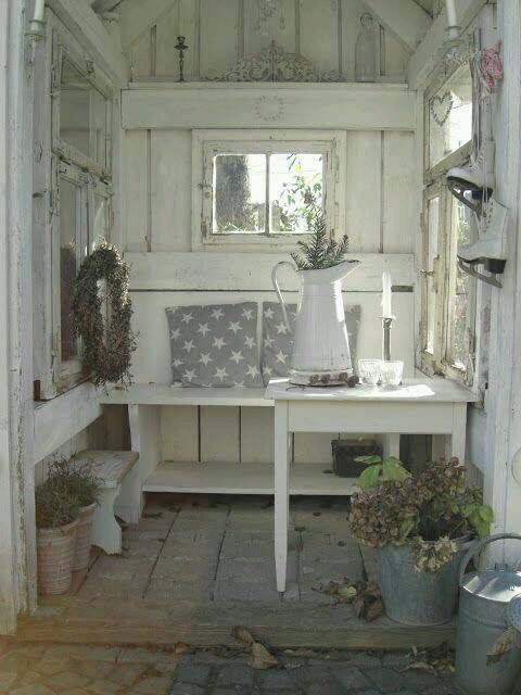 Gartenhaus Shabby Chic pin by garvin on garden shed potting tables