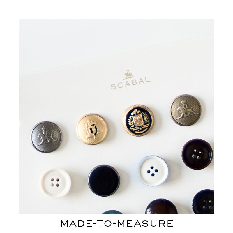 The noble art of tailoring. Contact your Scabal store now and get an appointment for you personal & unique suit.