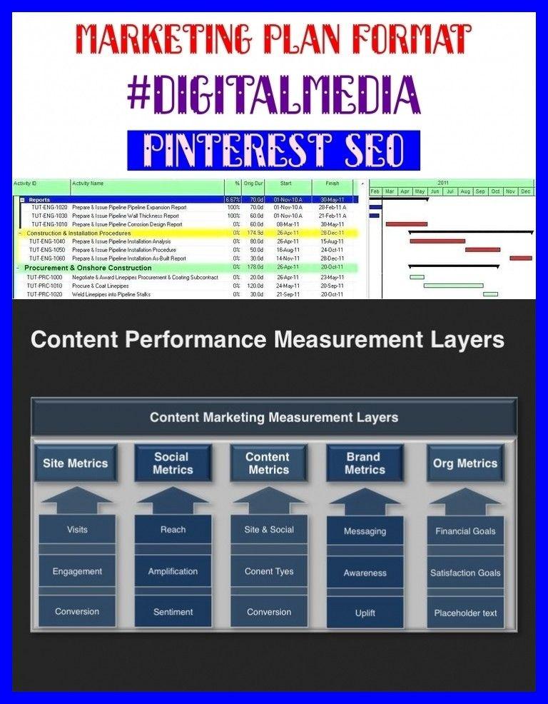 Marketing plan format digitalmedia seo design