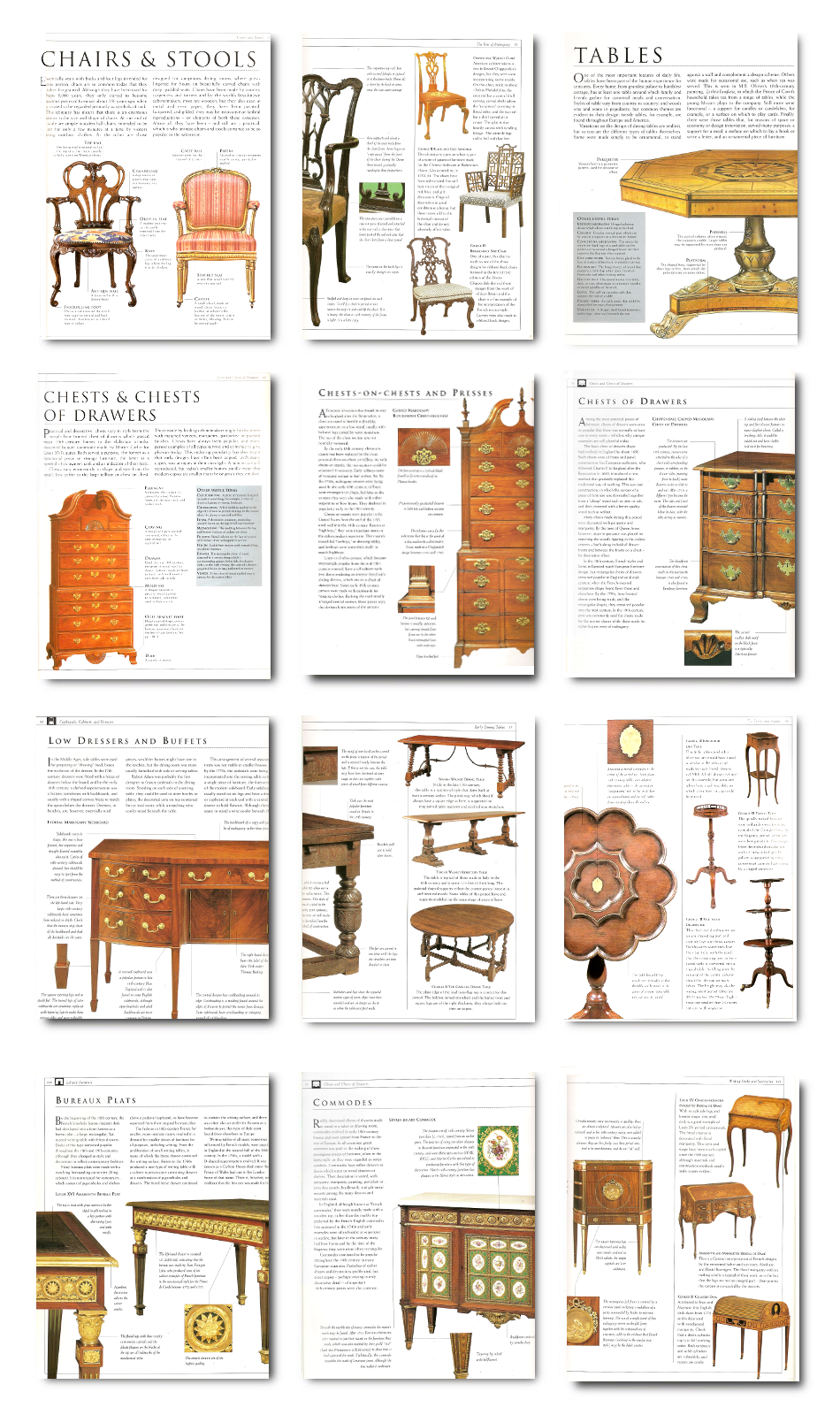 A Must-Have Antique Furniture Identification Guide -Antique Furniture Tom  Forrest - A Must-Have Antique Furniture Identification Guide -Antique
