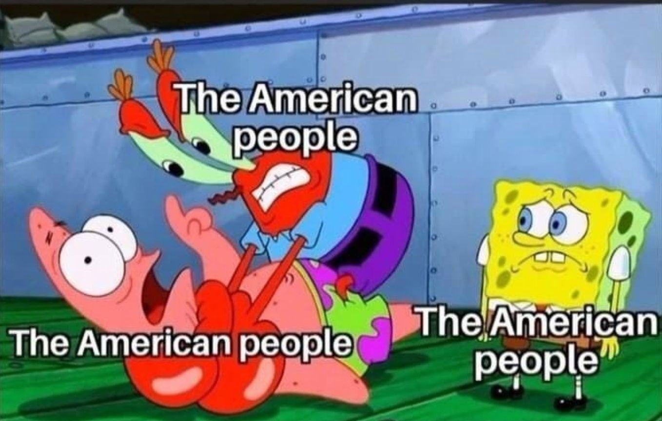 Americans Cope With A Demented Electoral Process Through Memes Really Funny Memes Funny Relatable Memes Stupid Funny Memes