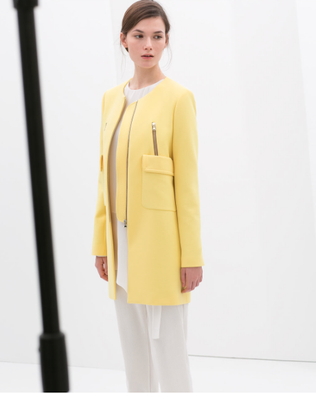 absolutely a must-have this spring: Pastell (ZARA)
