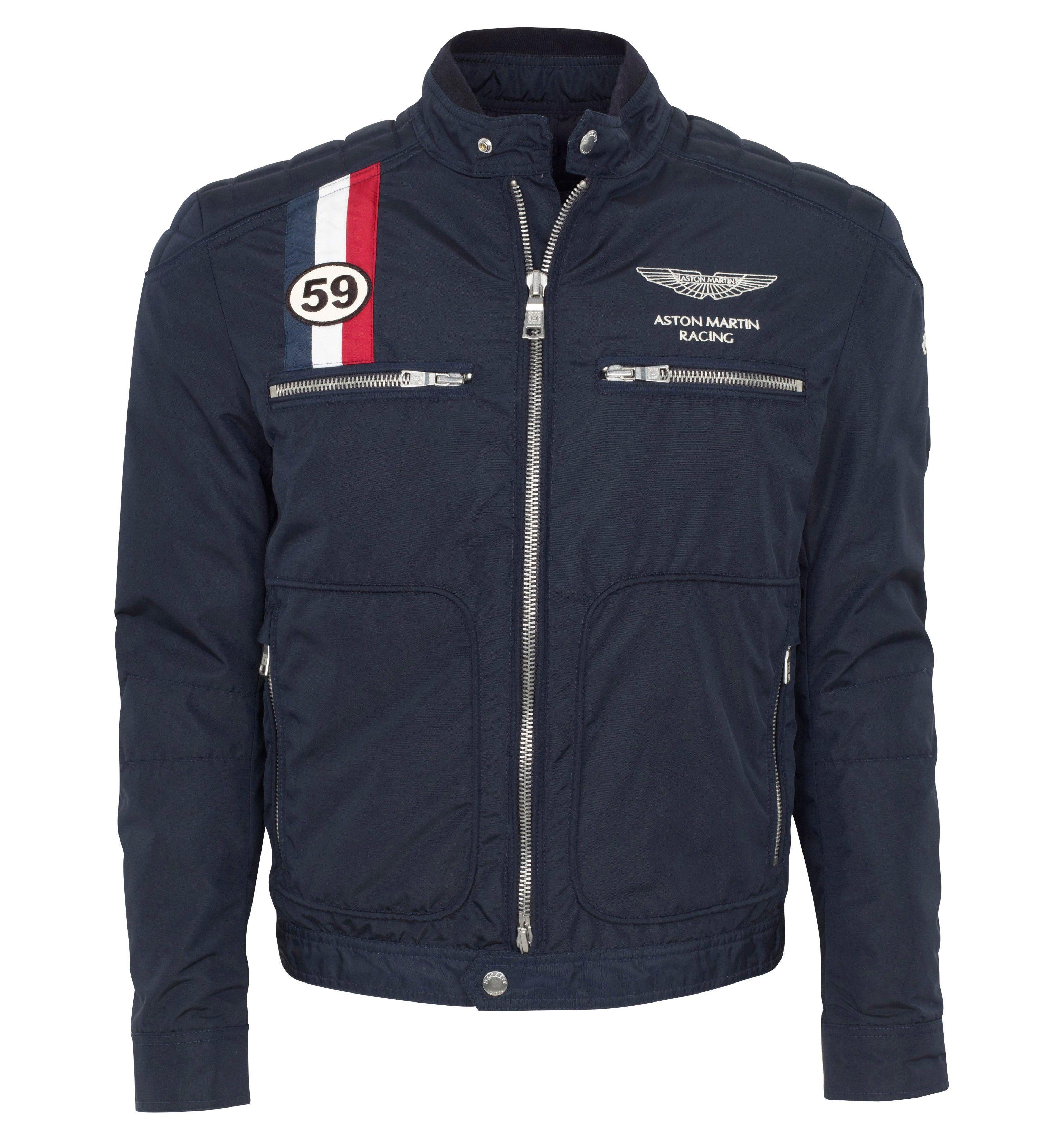 Hackett - Aston Martin Racing GB Moto Jacket | 600.00 from Hackett London