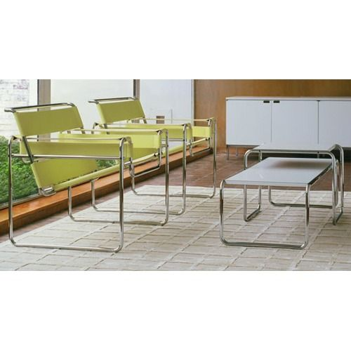 Knoll Laccio Table And Vitra B3 Wassily By Marcel Breuer Mid