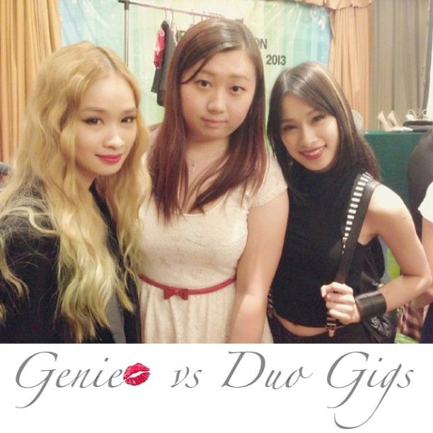 "@geniecullen's photo: ""With @evangelineyan & @cherriemun at #generationbeautytalk2013 #today #sunday #awesome #happy #girl #talk #mivva #penang #cititel"""