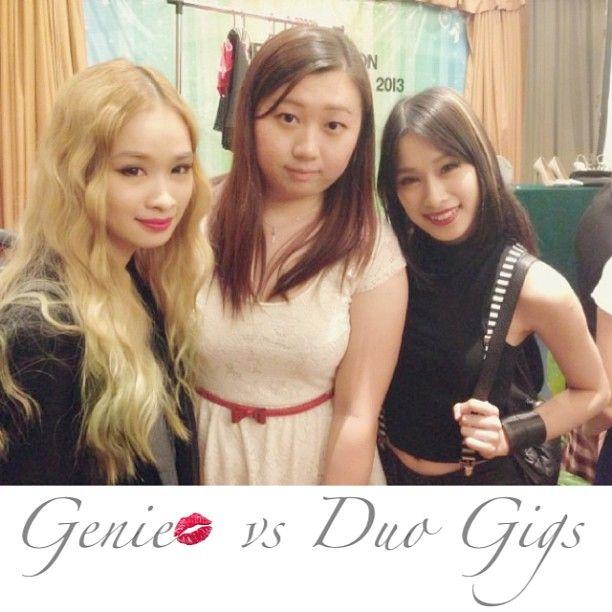 "@geniecullen's photo: ""With @evangelineyan & @cherriemun at #generationbeautytalk2013 #today #sunday #awesome #happy #girl #talk #mivva #penang #cititel"""