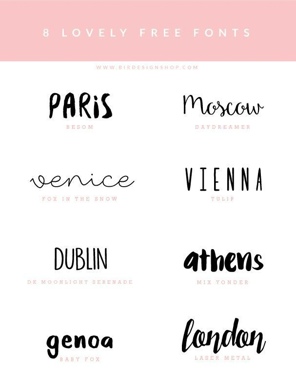 Fonts inspiration - download free | graphic design, printables