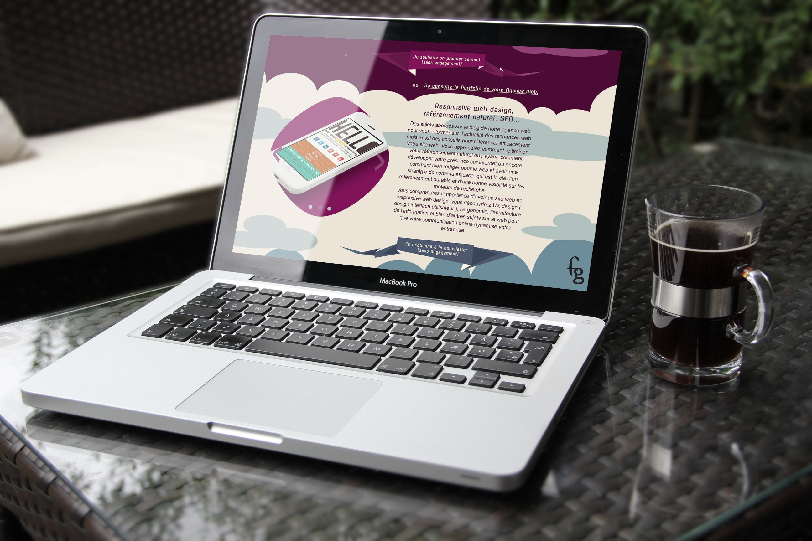 Web design inspiration agence communication http://webs.agency visuelle web & print au Luxembourg