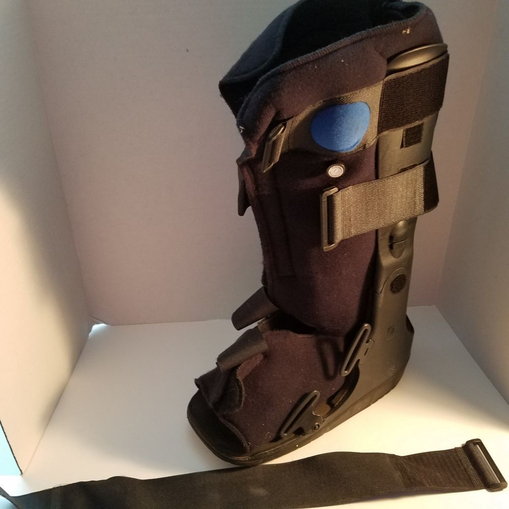 cf23b6babac High Air Ankle Walker Fracture Cam Medical Boot Walking Foot Brace Sprain  Medium  Unbranded