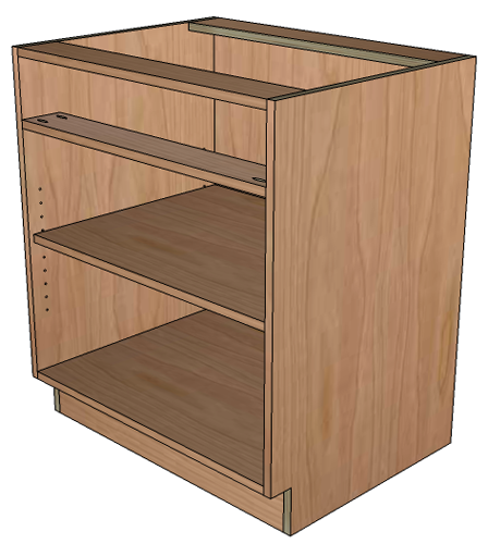 Tom Builds Stuff How To Build Frameless Base Cabinets
